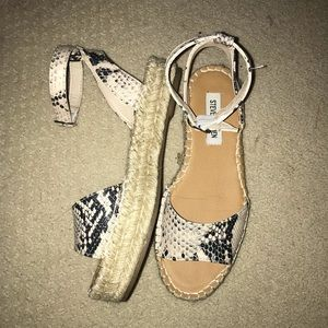 Steve Madden Espadrille Sandals Size 6.5